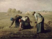 Les Glaneuses, 1857, musée d'Orsay, Paris.