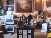 Jacques Aubry en compagnie de son ami Georges RICHARD